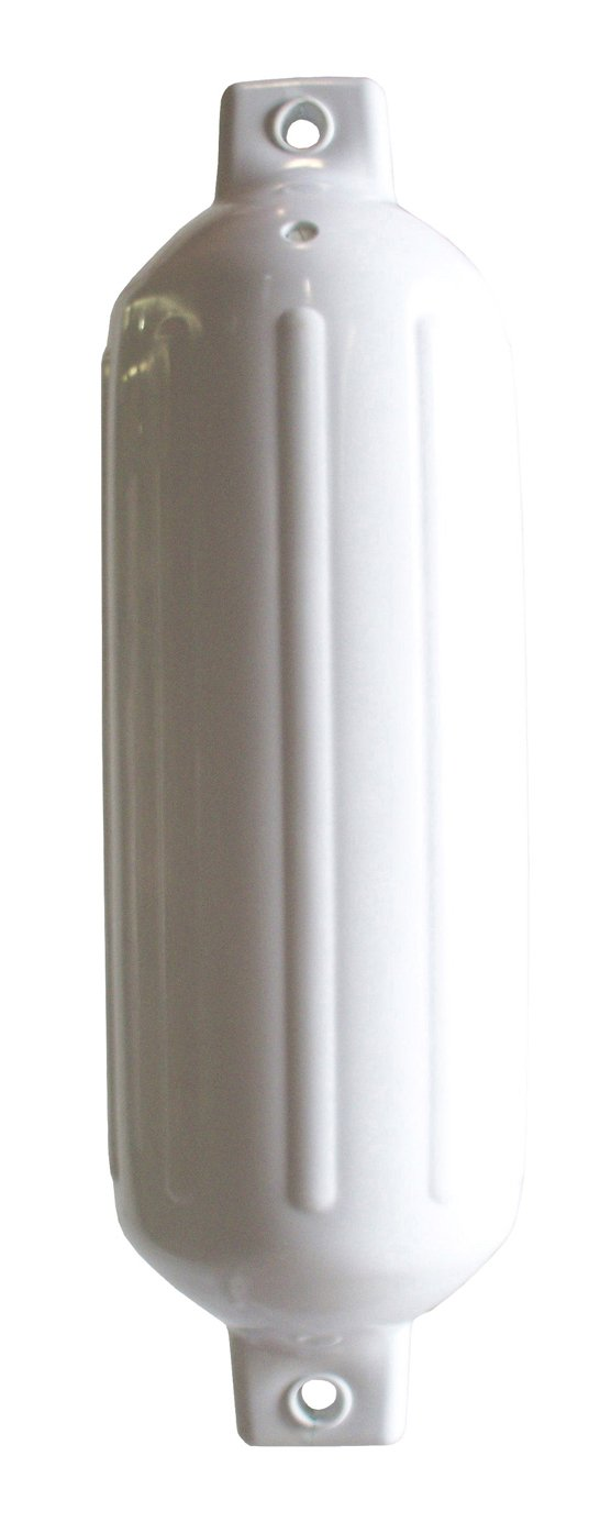 5.5 x 20 White 5.5x20-Inch 79-201-F Dock Edge DockSide Premium Fenders