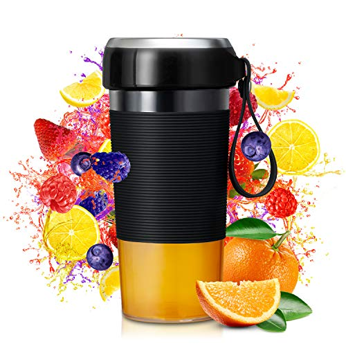 Smoothie Blender, Portable Blender with Magnetic Charging, Blender for Shakes and Smoothies with 301 Stainless Steel…