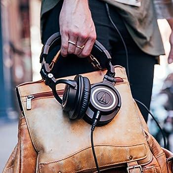 Audio-technica Ath-m50x Professional Studio Monitor Headphones, Black 18