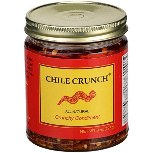 Chile Crunch, Sauce Crunchy Condiment, 8 Ounce