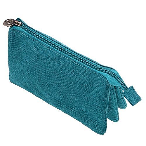 3 Pocket Pencil Case For Girls