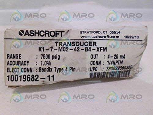ASHCROFT K1-7-M02-42-B4-XFM TRANSDUCERNEW IN BOX