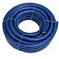 Conext Link 20 FT 2 AWG GA Full Gauge Battery Power Cable Ground Wire Frost Blue OFC Copper