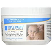Triple Paste Medicated Ointment for Diaper Rash-8 oz - Two Pack