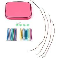 Materiales para tejer con aguja de lengüeta