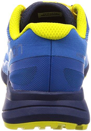 Sense Salomon Running Scarpe Bunting 000 Sulphur Indigo Ride Blue da Snorkel Uomo Trail Blu rrCq4dw