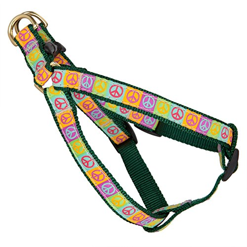 - Peace Signs Dog Harness - X-Small