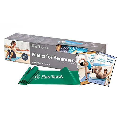 STOTT PILATES 2nd Edition Pilates Kit for Beginners, Teal