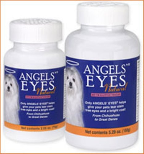 Angels' Eyes Natural Tear Stain Elimination and Remover, Chicken Flavor, 225 gram, My Pet Supplies