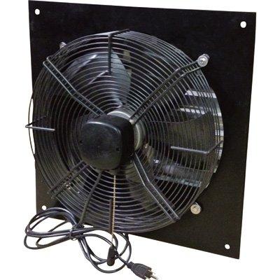 Canarm Exhaust Shutter Fan - 16in. Dia., 1,800/2,000/2,300 CFM, 1/8 HP, Model# XFS16