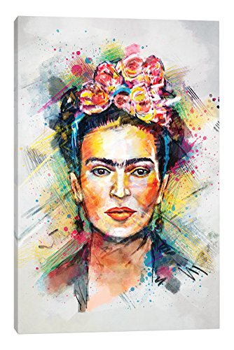 iCanvasART TRC28-1PC3-40x26 Icanvas Frida Kahlo Print by Tracie Andrews, 40