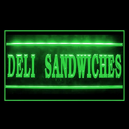 110285 Deli Sandwiches Party Platters Salami Display LED Light Sign