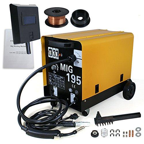 MIG-195 GAS / NO GAS DUAL MIG WELDER FLUX 220V 190...