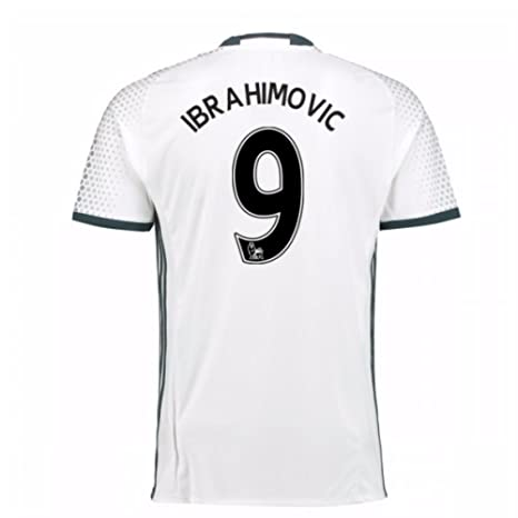 e5a59d71a Image Unavailable. Image not available for. Color  2016-17 Man Utd Third  Football Soccer T-Shirt Jersey (Zlatan Ibrahimovic 9
