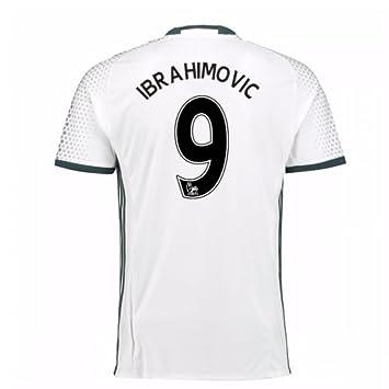 2016-17 Man Utd Third Football Soccer T-Shirt Camiseta ...