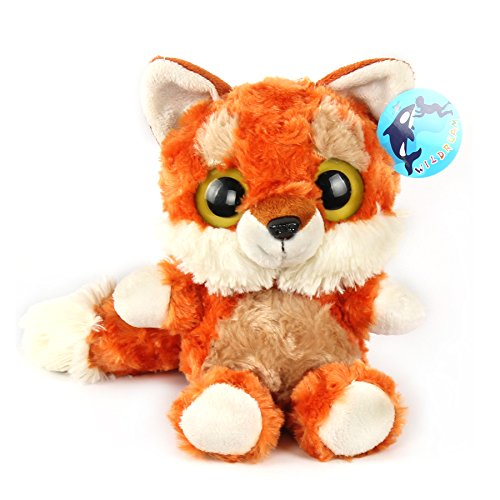 Large Furry Animal - WILDREAM Red Fox with Furry Tail
