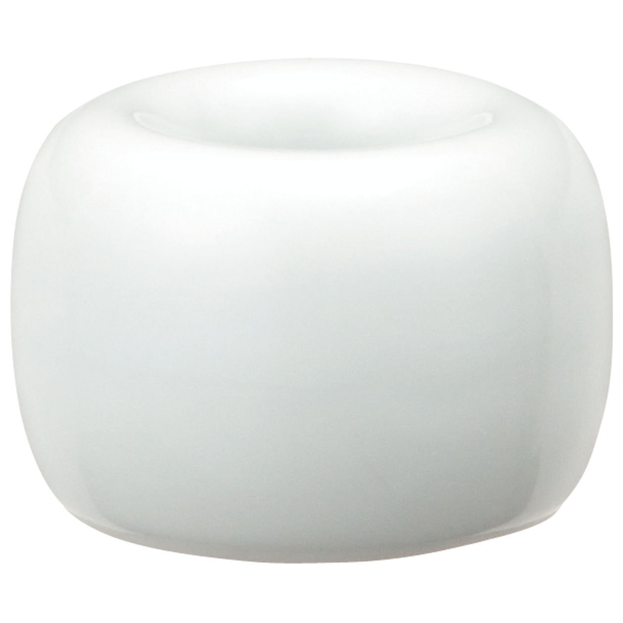 Muji White Porcelain Tooth Brush Stand - White