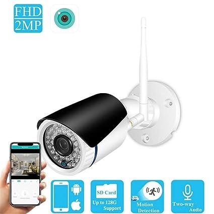 Amazon com: QUARKJK WiFi Wireless IP Camera 960P Home