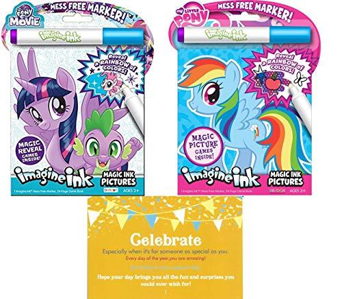 My Little Pony Imagine Ink Book Bundle 2 Pack