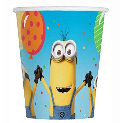 Despicable Me 3 Party 9oz Paper Cups (8 per pkg)