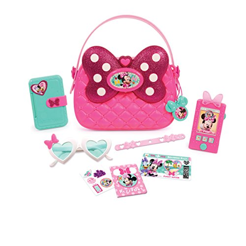 Just Play Girls Minnie Happy Helpers Bag (Mouse Shoe Charms)