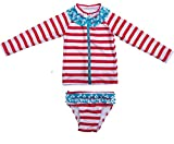 Best SwimZip Bathing suits - SwimZip Little Girl Long Sleeve Rash Guard Zip Review