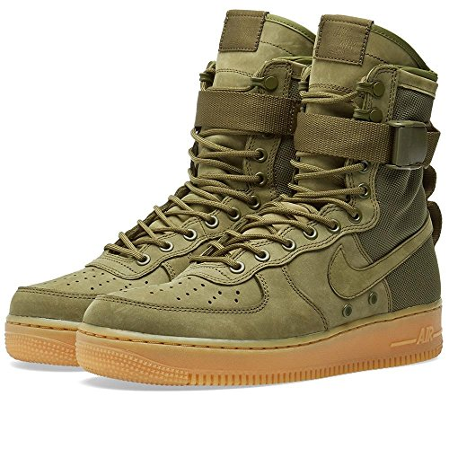new styles 5fd15 844f6 Nike Mens SF AF1 Special Field Air Force 1 Faded Olive Suede ...