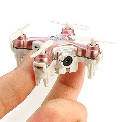 HUA MU MINI UAV 4-Axis Aircraft with 6-Axis Gyroscope System 0.3MP HD camcorder / VCR / 360 ° Flip / LED Colorful Lights / Android iOS APP Phone Control / (Axis Vcr)