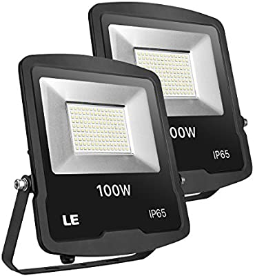 LE Foco LED Proyector de 100W 8000lm Blanco Frío 5000K ...