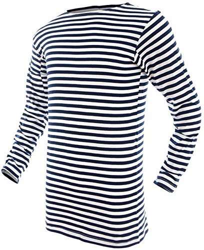 Mil-Tec Russian Navy Pullover Striped Summer Sweater - 10813000-905