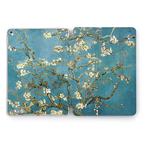 Wonder Wild Almond Blossoms Design Case for Apple iPad Pro 9.7 11 inch Mini 1 2 3 4 Air 2 10.5 12.9 2018 2017 5th 6th Gen Clear Smart Hard Cover Van Gogh Famous Painting Art Museum Retro Floral New]()