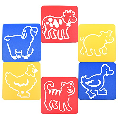 BCP Assorted Painting Stencils Templates product image