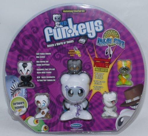 Funkeys Dream State Starter Kit - Bonus Pack - Includes Hub, 1 Multiplayer, and 4