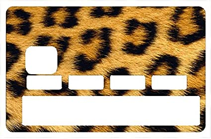 90f9acf0221 Amazon.com: DECO-IDEES Credit Card Sticker, Leopard - Personalize ...