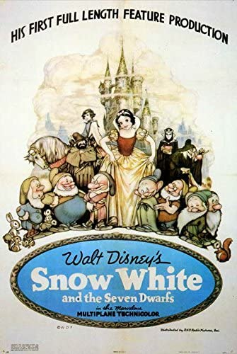 Amazon.com: Snow White and the Seven Dwarfs POSTER Movie (11 x 17 Inches -  28cm x 44cm) (1937) (Style H): Posters & Prints