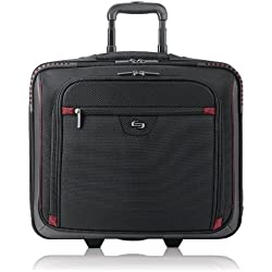 Solo Sterling Executive Rolling Computer Case with Telescoping Handle for 16-Inch Laptops (STL905-4)
