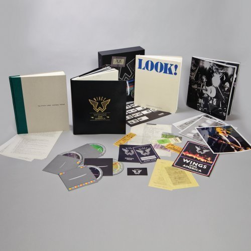 Wings Over America [4 CD][Deluxe Box Set] by Paul McCartney & Wings (2013-05-04) (Wings Over America Cd compare prices)