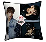 BTS Bangtan Boys JIN SUGA J-HOPE JIMIN V Double Side Throw Pillow (BTS 4)
