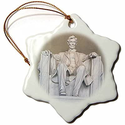 Danita Delimont - Washington D.C. - Abraham Lincoln Memorial, Washington DC - US09 RKL0011 - Raymond Klass - Ornaments