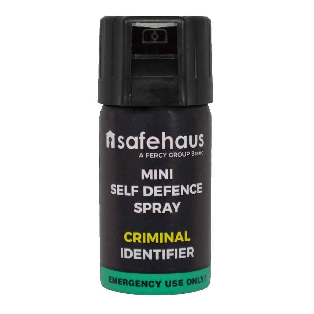 Safehaus Mini Self Defence Spray Criminal Identifier by Amazon