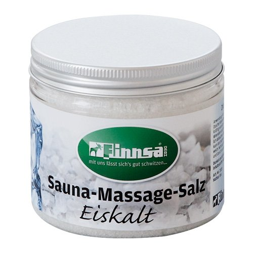 Finnsa Sauna-Massage-Salz Eiskalt in 3 Grö ß en (200g)