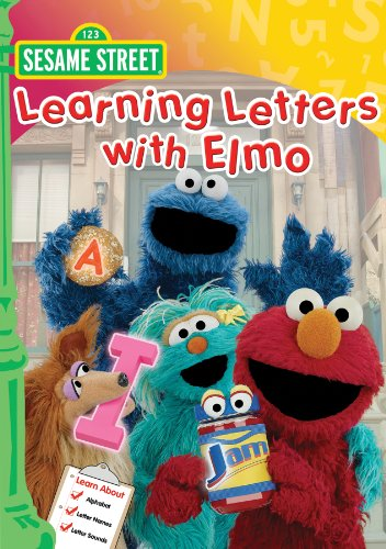 Sesame Street: Learning Letters with Elmo (Elmo Easy As Abc)