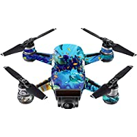 Skin For DJI Spark Mini – Ocean Friends | MightySkins Protective, Durable, and Unique Vinyl Decal wrap cover | Easy To Apply, Remove, and Change Styles | Made in the USA