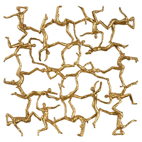 Uttermost Golden Gymnasts Metallic Gold
