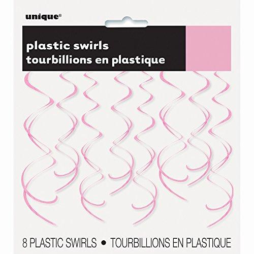 Plastic Hanging Swirl Light Decorations