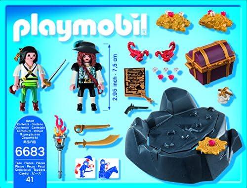 Amazon.com: Playmobil pirata tesoro Hideout: Playmobil: Toys ...