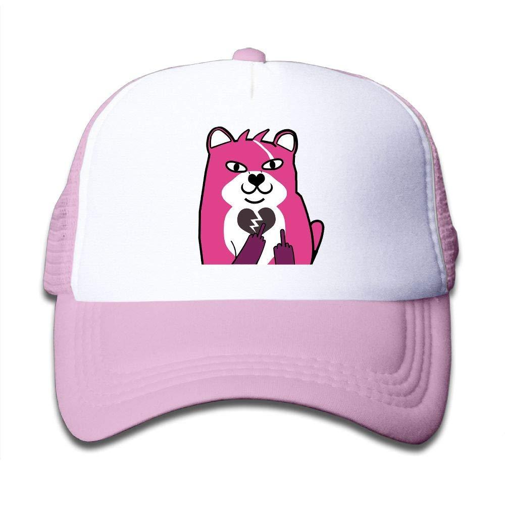 Aidear Funny Fortnite Bear Youth Girls Mesh Hat Fashion Child Mesh Hat One Size