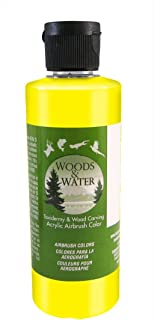 product image for Badger Air-Brush Co. 16-Ounce Woods and Water Airbrush Ready Water Based Acrylic Paint, Bright Yellow