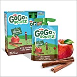 Go Go Squeez Fruit Sauce, Apple Cinnamon, 360g per Unit (4 X 90g per Pouch)