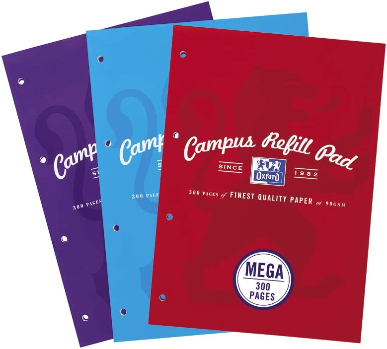 College Free Delivery A4 Lined Refill Pad 160 Pages NoteBook Back To School